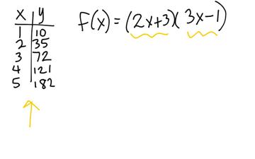 Explicit Formula For A Quadratic Using The Factor Method ...